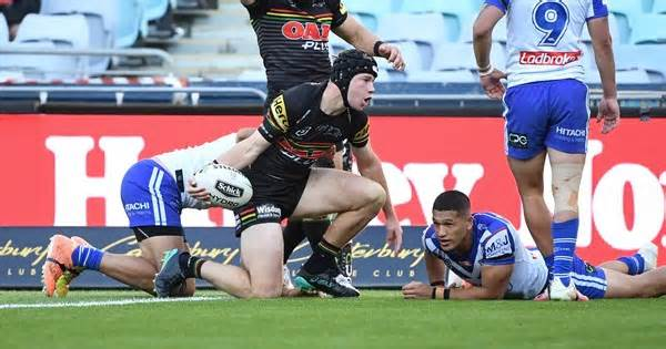 Why Bulldogs are happy for Burton to stay at Penrith next season
