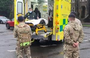 Record number of Armed Forces personnel help with Covid response