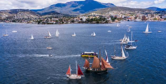 Tasmania's Parade of Sail goes off without a hitch
