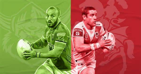 Raiders v Dragons: Kris to miss; Clune fills Hunt void