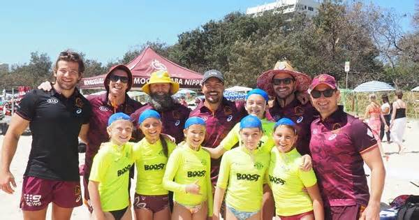 Broncos Ripper Nipper Day Out
